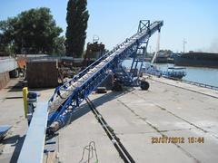 Конвейер ленточный для погрузки морских судов