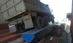 Боковой одноколейный разгрузчик автомобилей БОРА-М