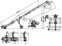 Транспортер винтовой передвижной У10-КПВ