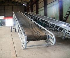 Ленточный транспортер для зерна