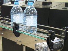 Пластинчатый транспортёр для пластиковых бутылок