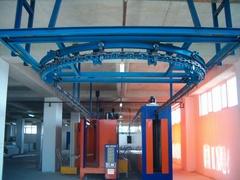 Круглый подвесной конвейер