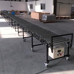 Раздвижной роликовый конвейер