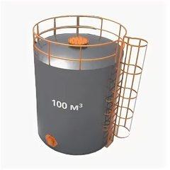 Резервуар вертикальный стальной 100 м3