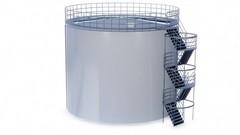 Резервуар вертикальный стальной 1000