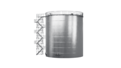 Резервуар вертикальный стальной купить