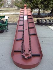 Скребковый навозоуборочный транспортер